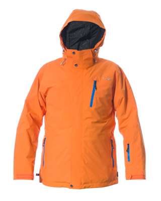 Telluride Men's Jacket - Orange / Notice Zips