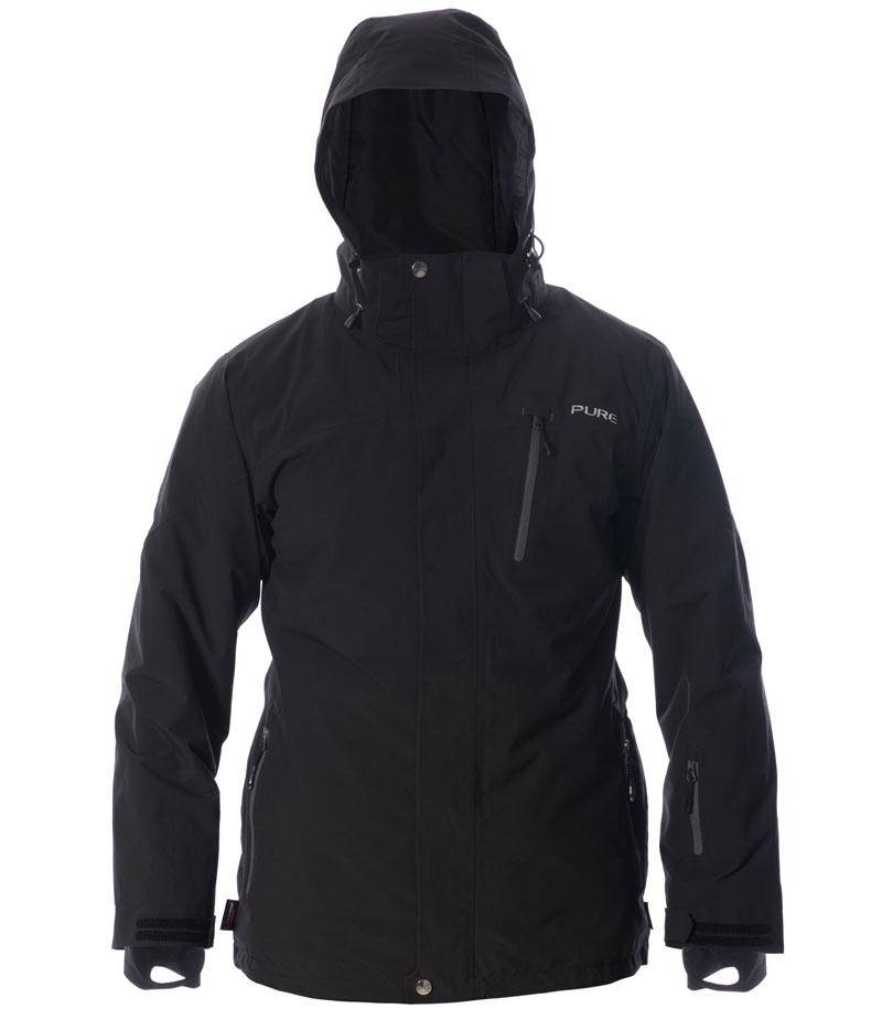Telluride Men's Jacket - Black / Ebony Zips