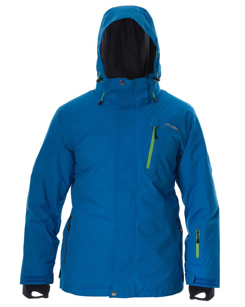 Telluride Men's Jacket - Notice / Green Zips