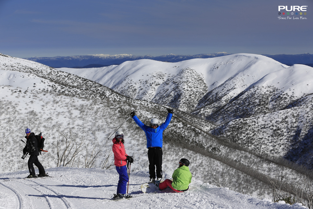 Pure Snow 2015 Launch Mt. Hotham. Photo: Charlie Brown