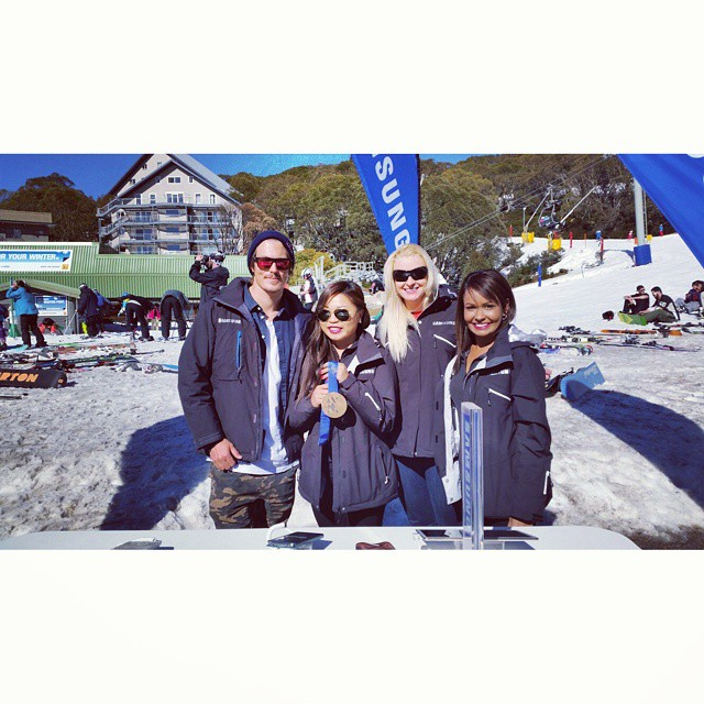 Pure were proud to provide Pure Snow uniforms for Samsung -   #samsunginthesnow     #fallscreek     #purebrandz