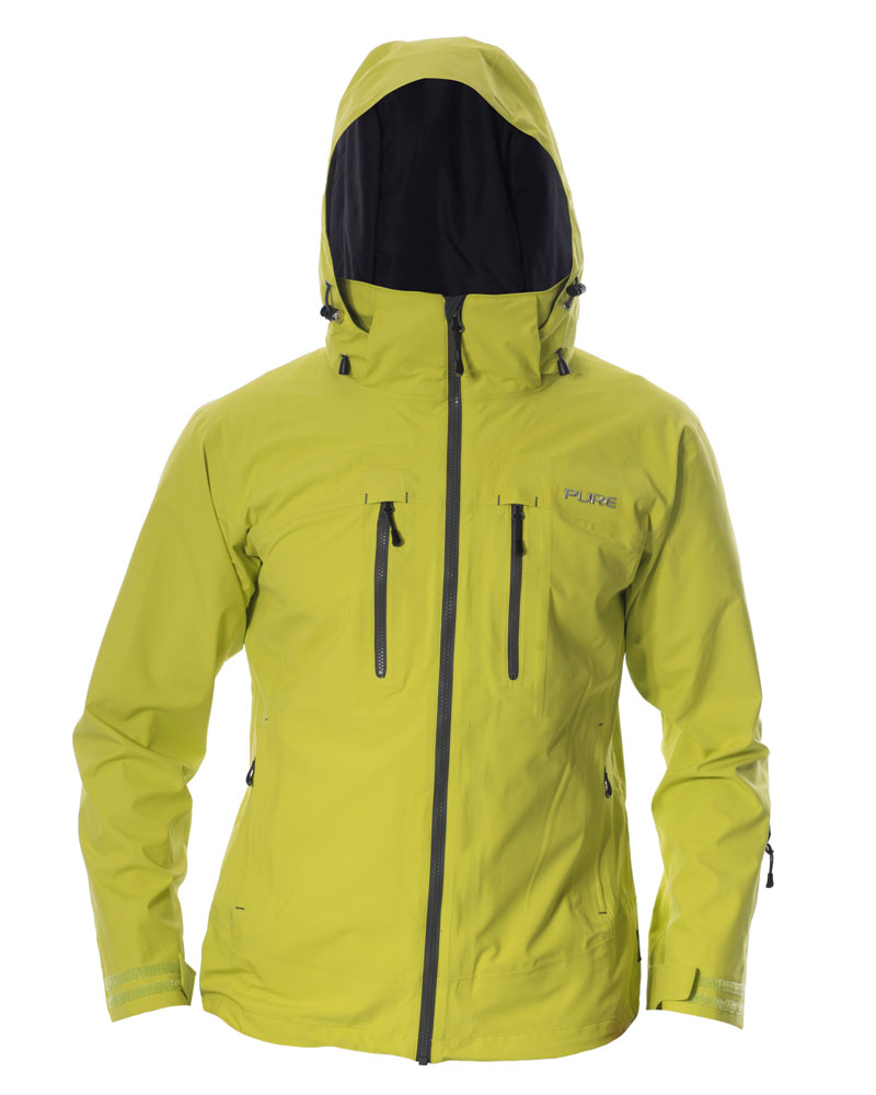 Everest Men's Jacket - Lime / Ebony Zips
