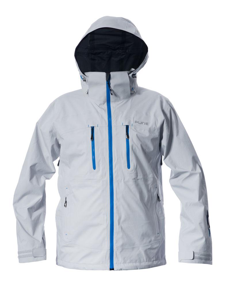 Everest Men's Jacket - Silver / Notice Zips