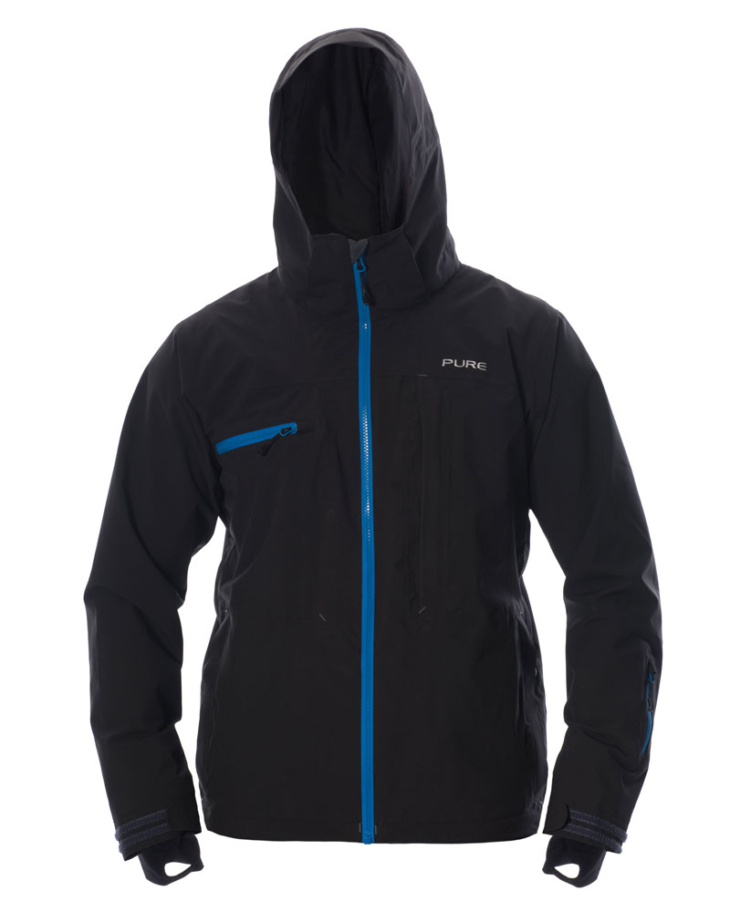 Kilimanjaro Men's Jacket - Black / Notice Zips