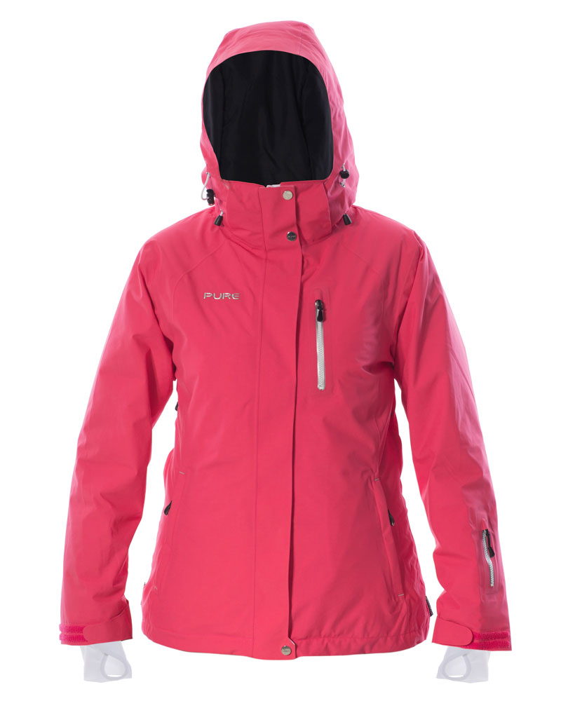 Chamonix Women's Jacket - Raspberry