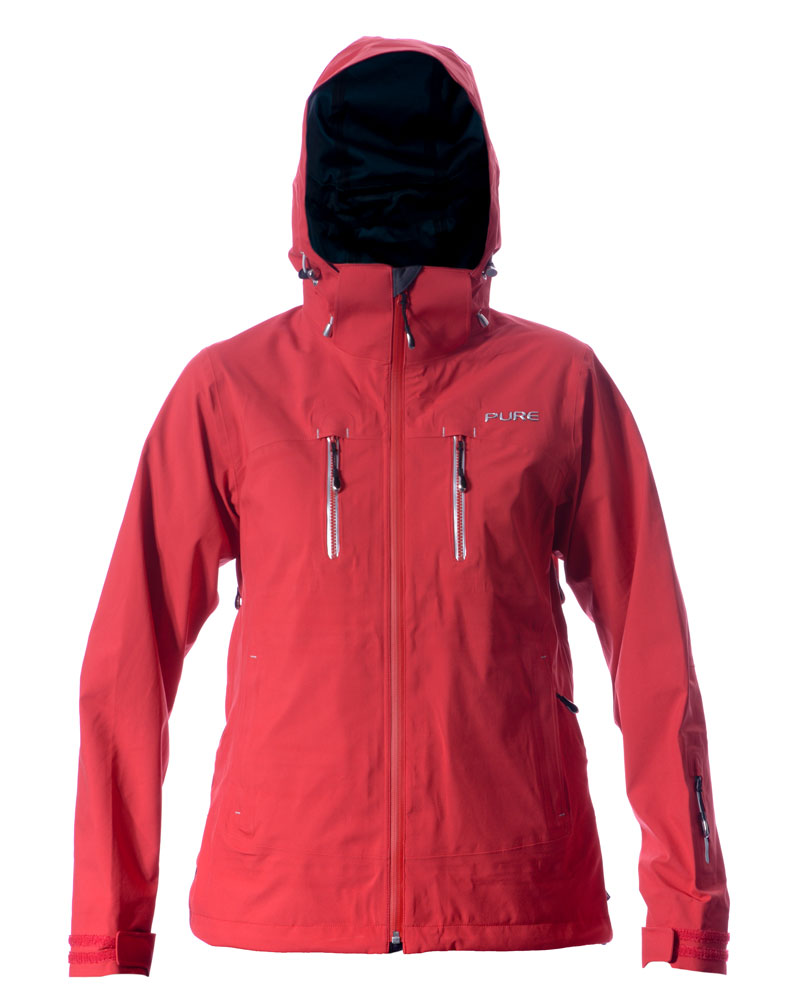 Monte Rosa Women's Jacket - Red