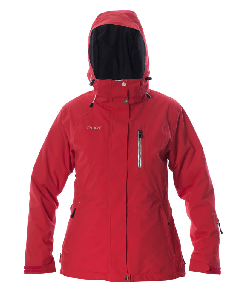 Chamonix Women's Jacket - Red
