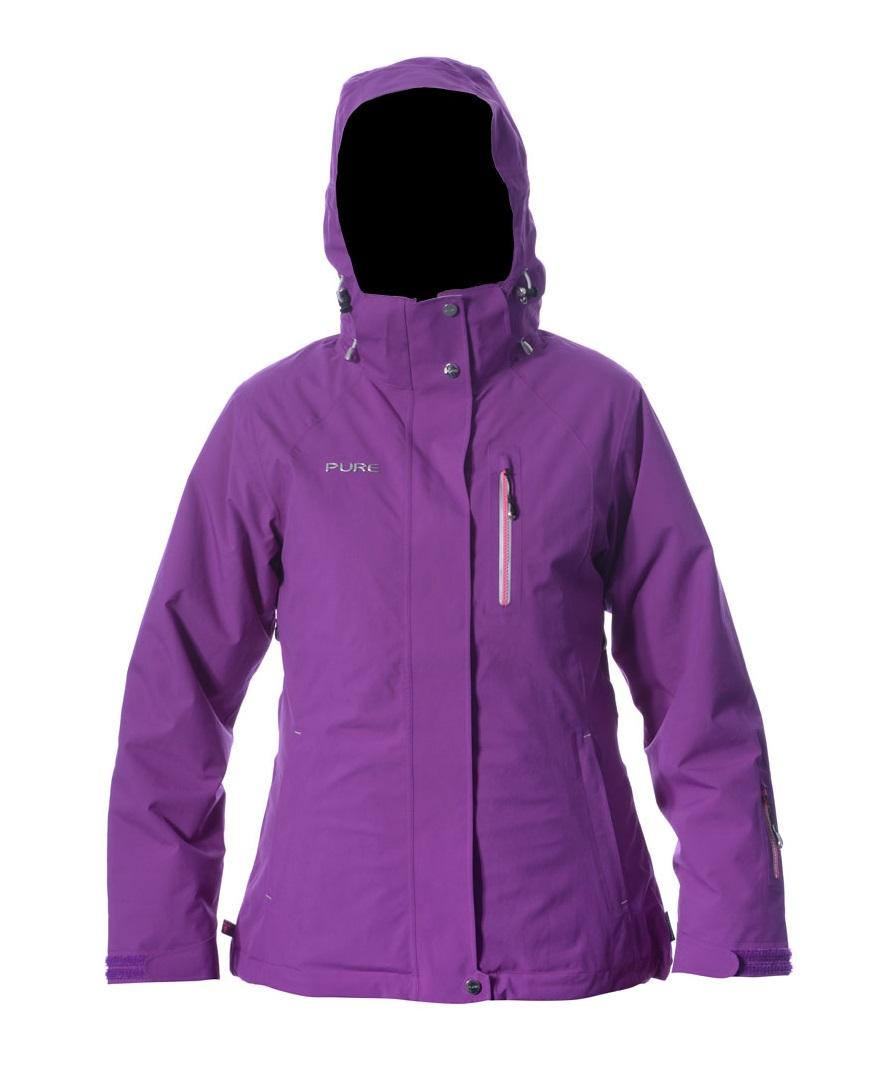 Chamonix Women's Jacket - Grape