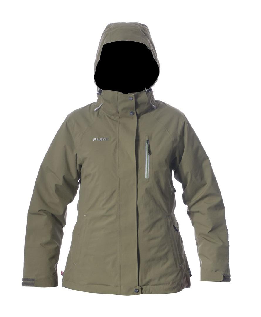 Chamonix Women's Jacket - Khaki