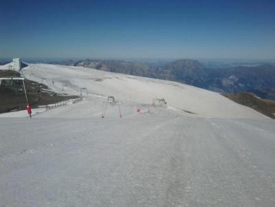 The glacier at Les 2 Alpes in France