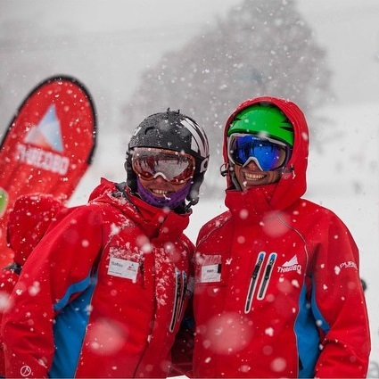 Pure Snow Uniform Jackets - Keeping the Thredbo team comfortably warm in wind and snow.