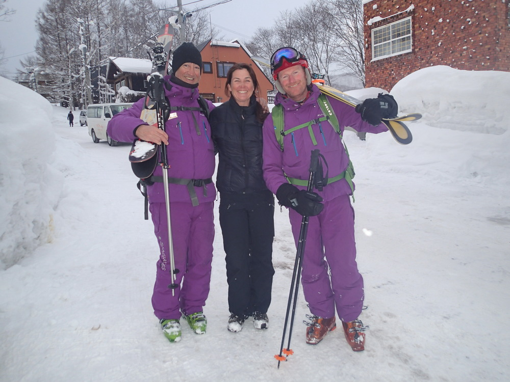 Pure Snow uniform Shinsetsu Mountain Guides.JPG