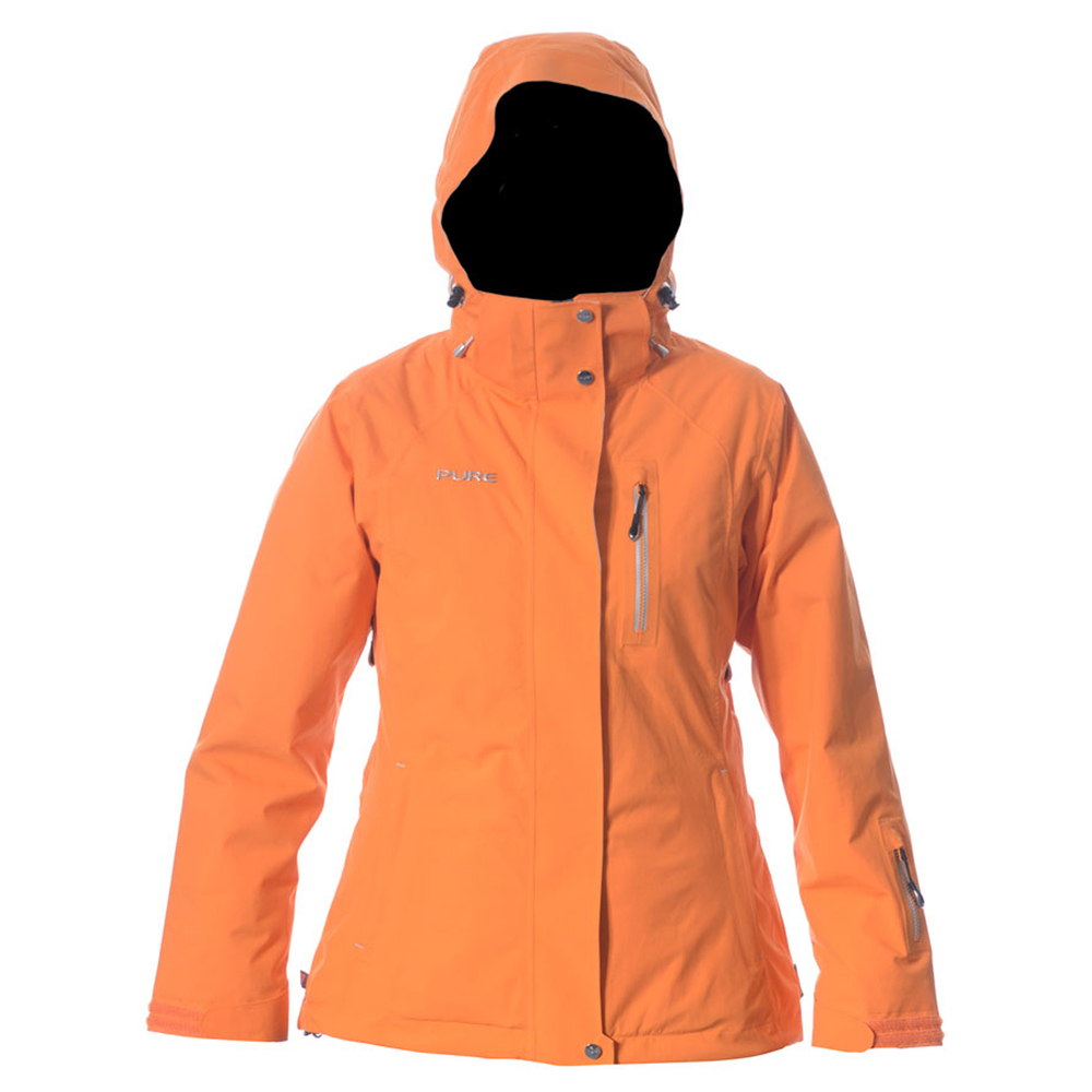 Pure Snow Chamonix Women s Jacket - Orange Womens Mens Womens Womens Womens  Kids Womens Blog Womens Contact Womens Product Care Womens About decb8ded6