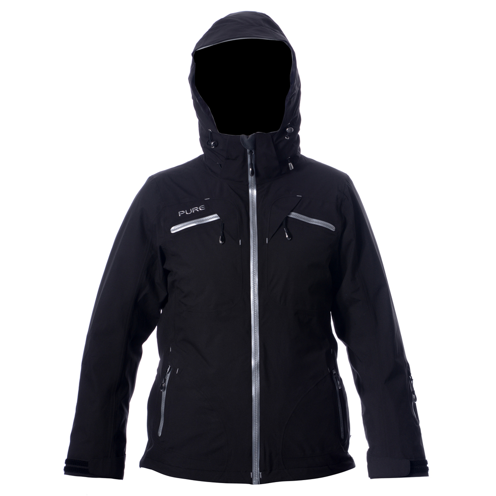 Pure Mountain Matterhorn Shell Jacket - Black Womens Mens Womens Womens  Womens Kids Womens Blog Womens Contact Womens Product Care Womens About 85116185b