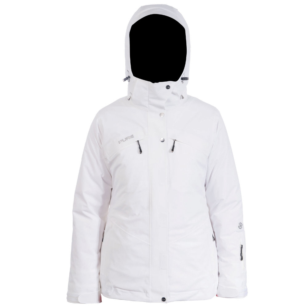 Pure Snow Meribel Insulated Jacket - White Womens Mens Womens Womens Womens  Kids Womens Blog Womens Contact Womens Product Care Womens About 9f9f9851b