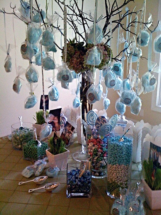 Tables decor cotton candy tree and table ideas