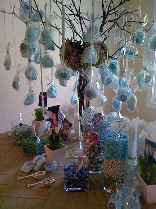 Tables Amp Decor Cotton Candy Tree And Candy Table Ideas