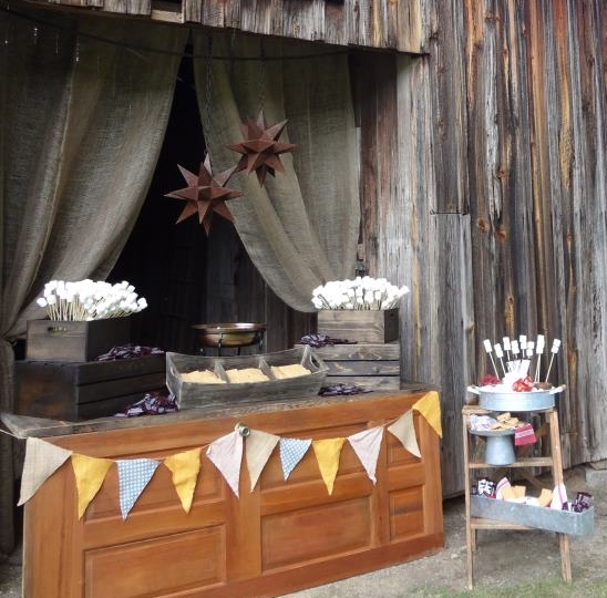 PARTY FOOD HOW TO CREATE A SMORES BAR FOR YOUR PARTY OR WEDDING RECEPTION Martie Duncan