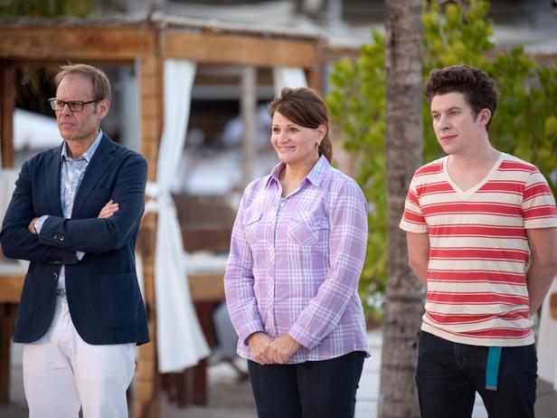 Alton Brown Martie Duncan Justin Warner Food Network Star