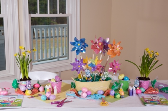 PARTY THEMES HOST AN EASTER EGG HUNT WITH CRAFTS AND