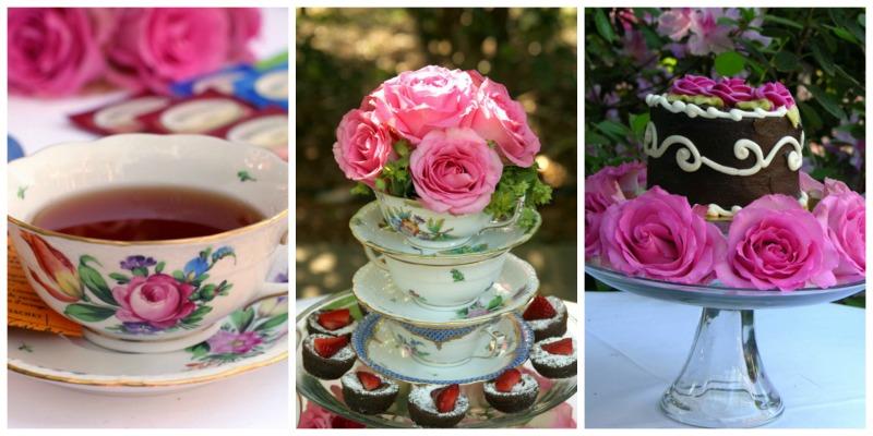 Mother Daughter Tea Party theme Martie Duncan