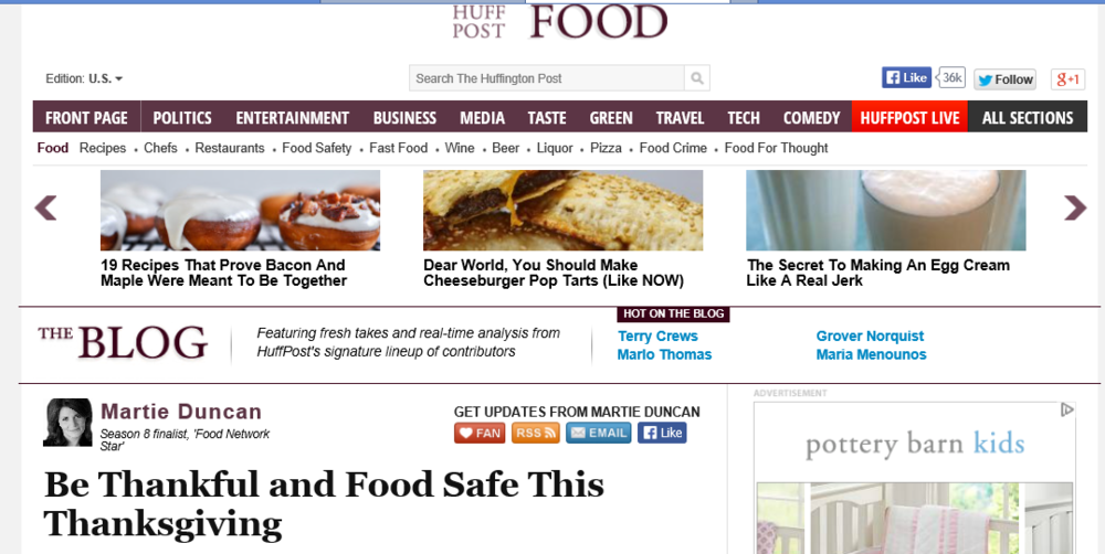 Huff Post Food Article Martie Duncan Thanksgiving.png