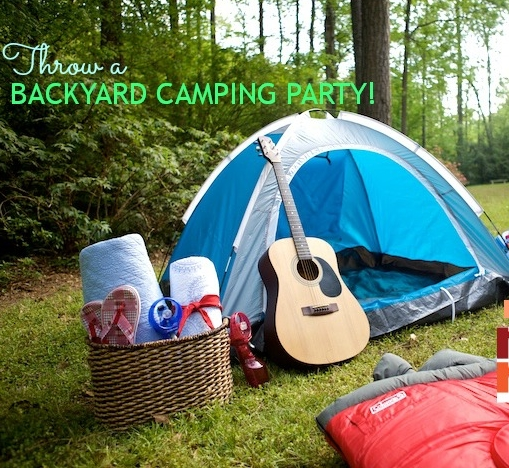 Plan a backyard campout complete with S'mores Bar Martie Duncan
