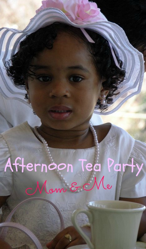 Mommy and Me Tea Party theme Martie Duncan