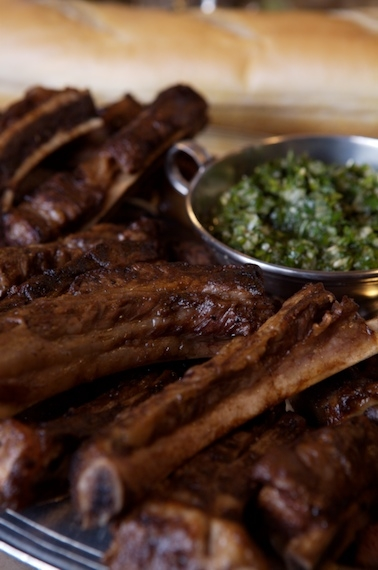 Chimichurri is always on the table in Argentina. Use it as a condiment for steak or any other grilled meat.