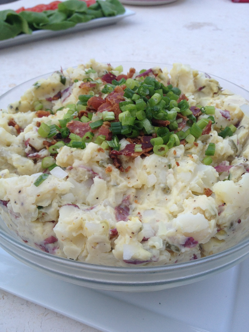 Bacon Chive Potato Salad recipe Martie Duncan