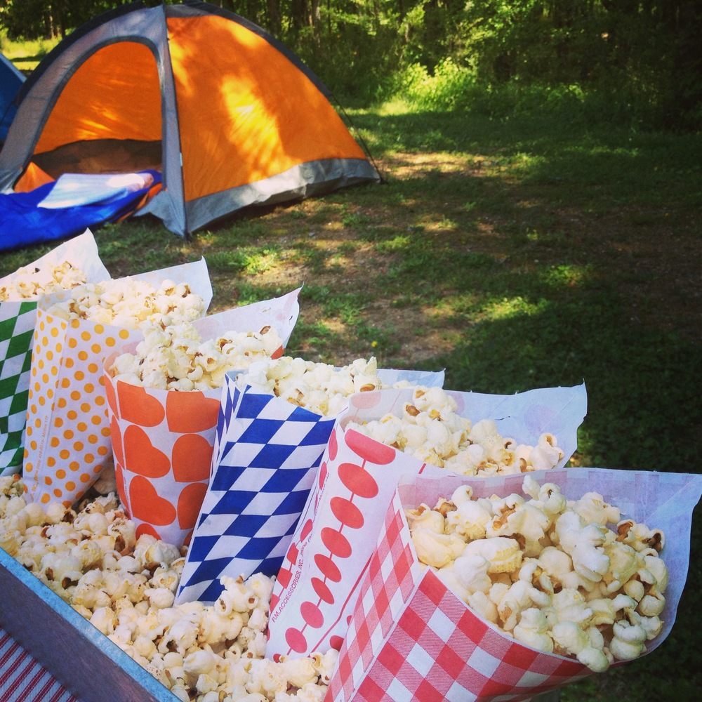 Healthy snack options camping party Martie Duncan