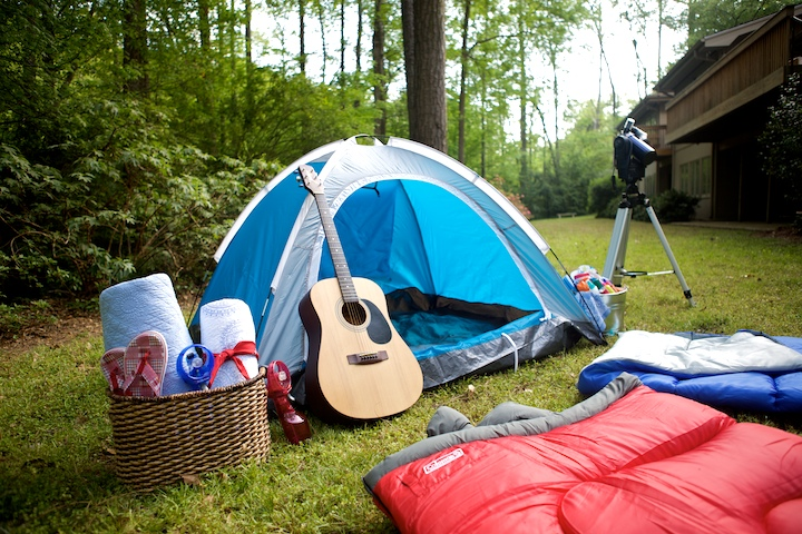 Camping In The Backyard Birthday Party : PARTY THEME BACKYARD CAMPING PARTY ? Martie Duncan