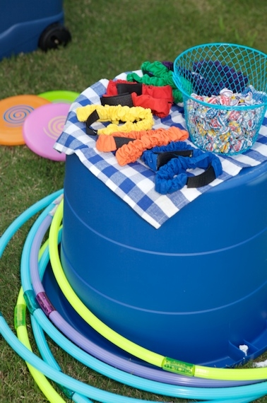 Hula Hoops And Other Backyard Game Supplies Can Be Found At The Dollar Store Or
