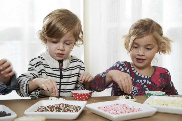Let the kids create their own cookie masterpiece for Santa.