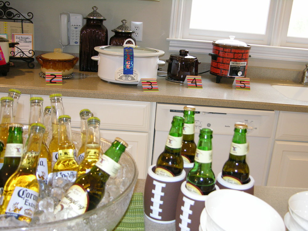 One of the easiest parties to host for every occasion from game day to neighborhood get-togethers... a chili cook off can become an annual event with big bragging rights on the line!