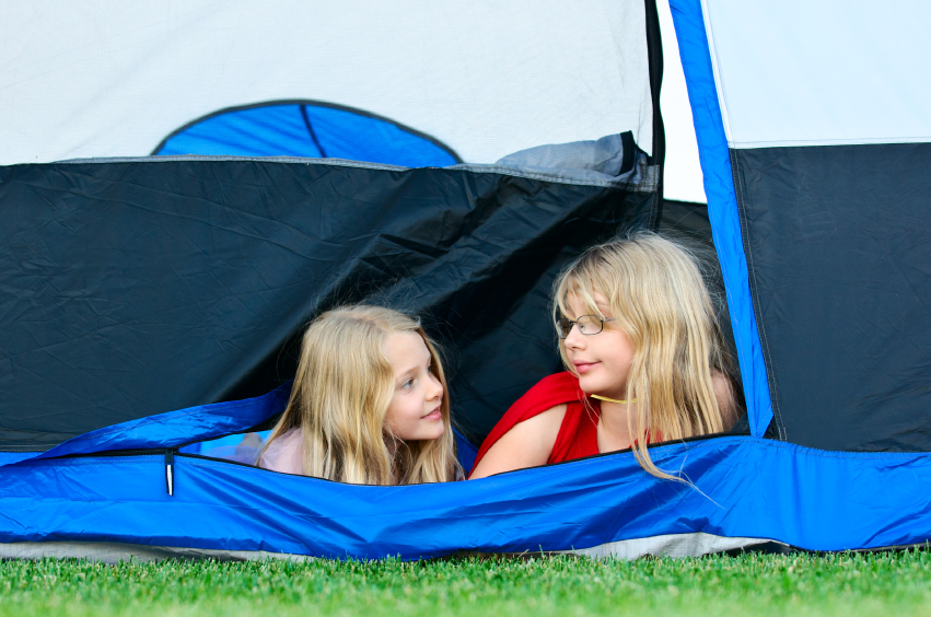 Make memories and have more fun than you can imagine when you go backyard camping.