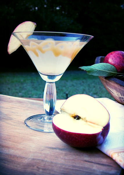 The perfect fall cocktail: my Caramel Apple Martini.