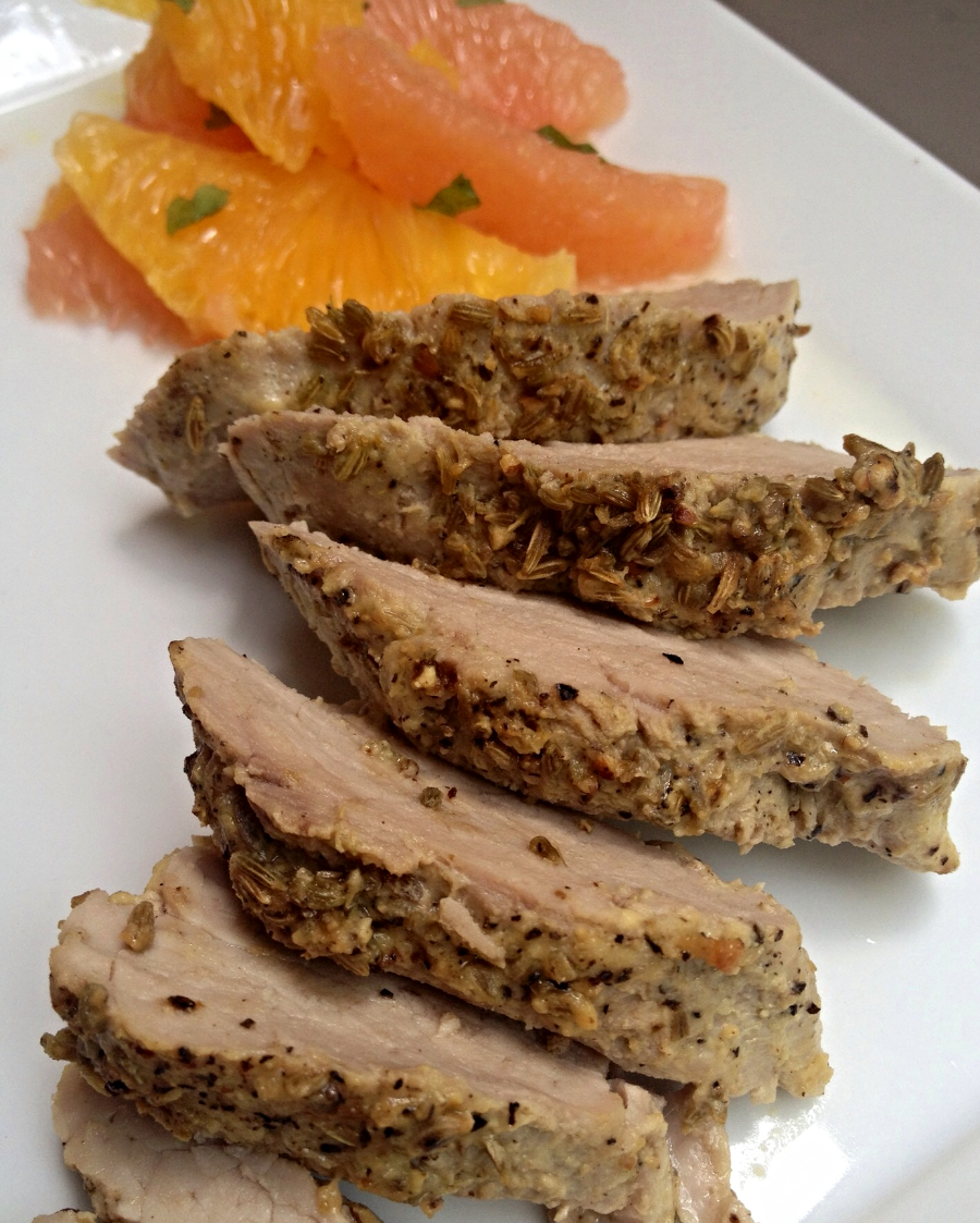 An easy, peasy crowd pleaser. Try my Pork Tenderloin with Fennel and Black Pepper Crust. You'll love it!