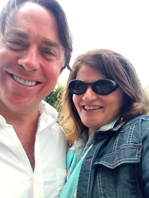 Martie and Chef John Besh selfie
