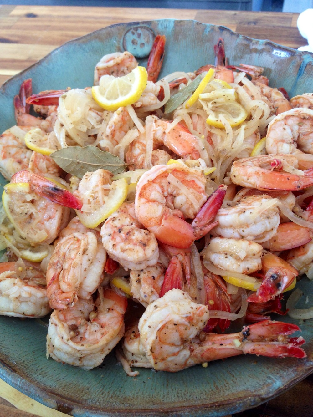 pickled shrimp recipe Martie Duncan Food Network Star recipe