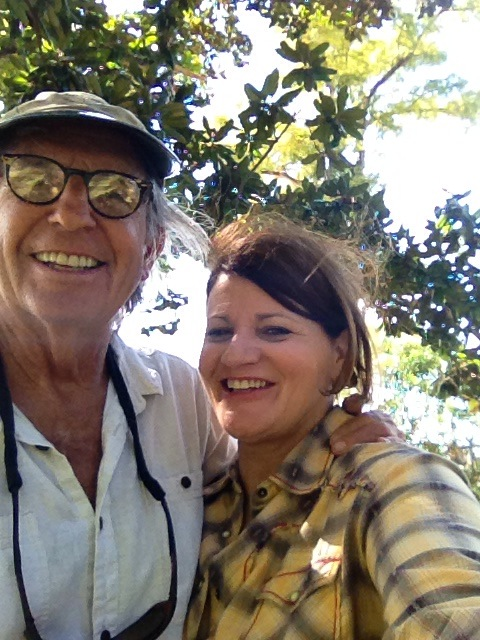 the real Forrest Gump and me Fairhope, Alabama 2014