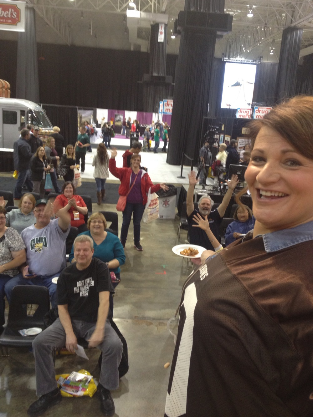 Fun at the fabulous food show Cleveland 2014