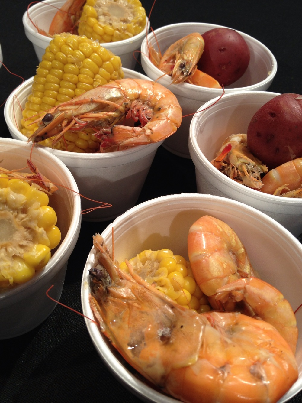 Big Gulf shrimp star in a one pot seafood boil Martie Duncan recipe