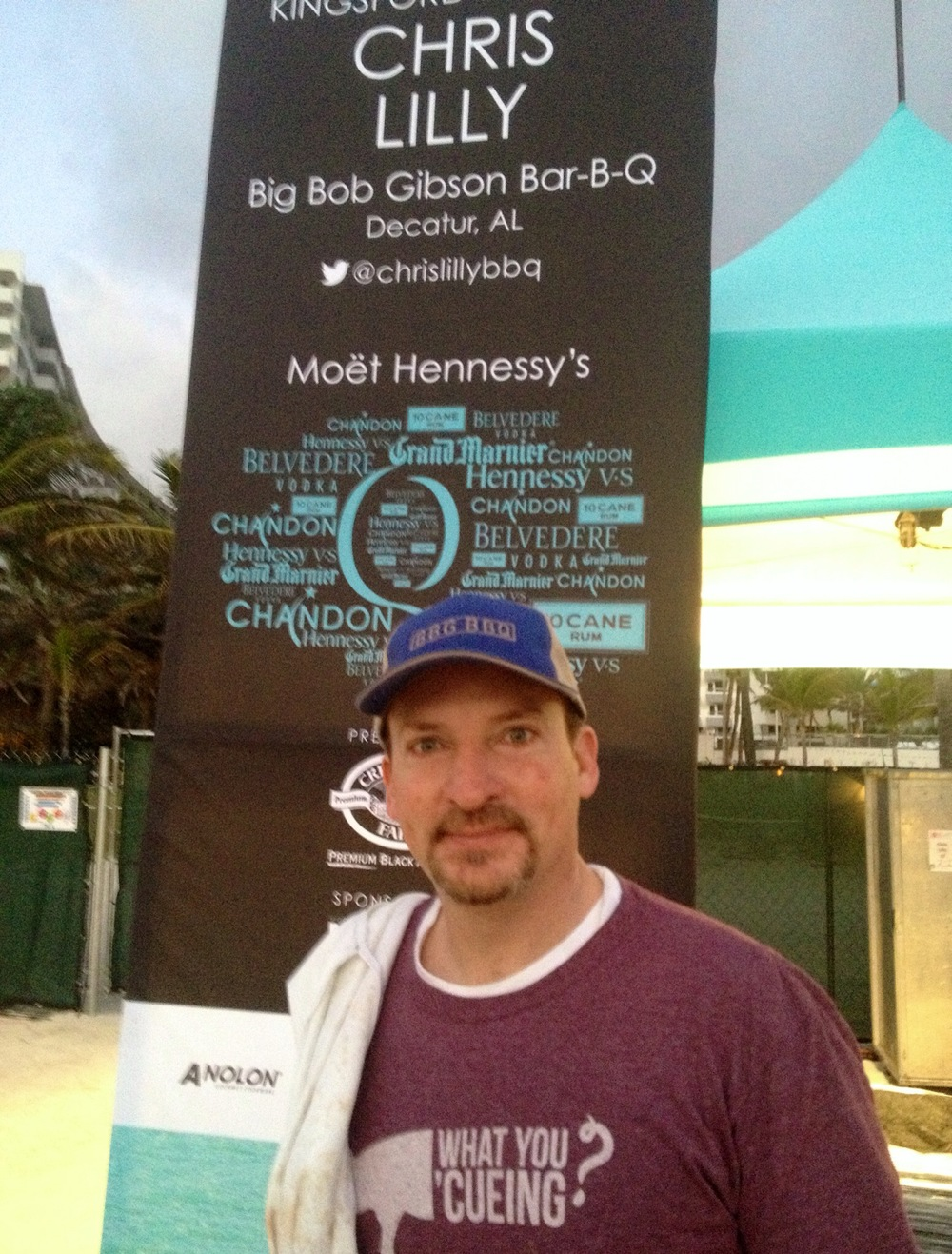 Chef Chris Lilly Big Bob Gibson's BBQ at The Q event South Beach Wine and Food Festival
