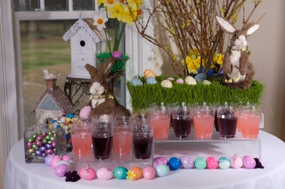 Easter and Spring centerpiece ideas