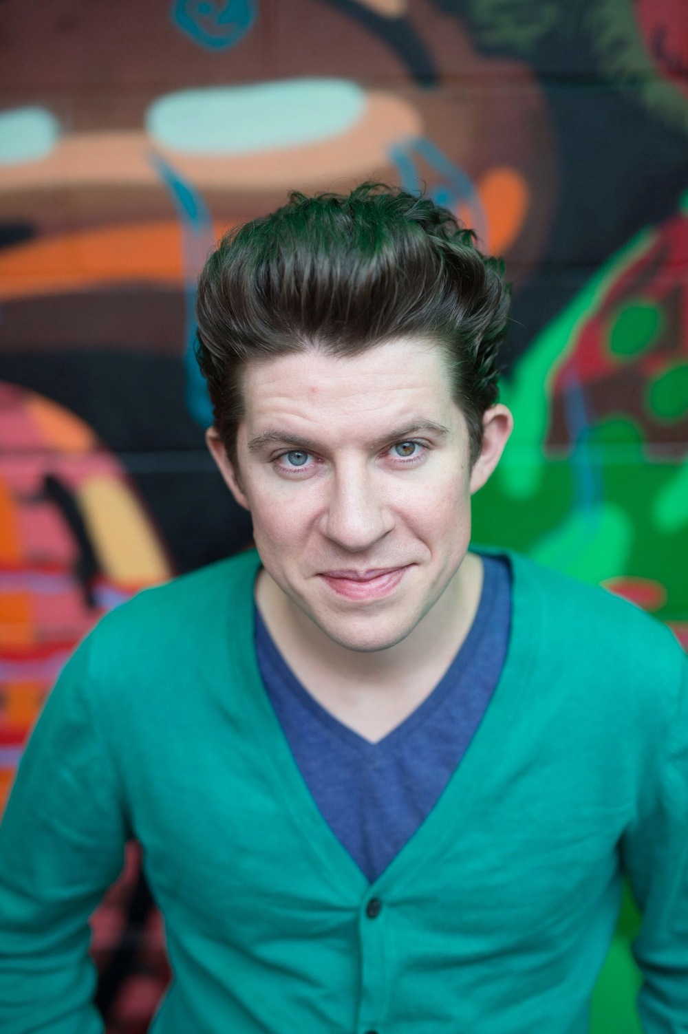 My favorite Food Network Star and BFF Justin Warner. Photo: Daniel Krieger