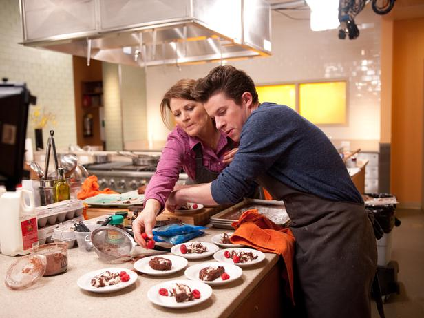 Justin Warner and Martie Duncan Food Network Star 8