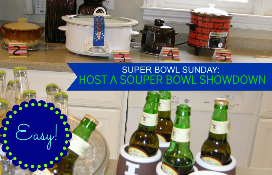 Easy Super Bowl party ideas Host a Souper Bowl party