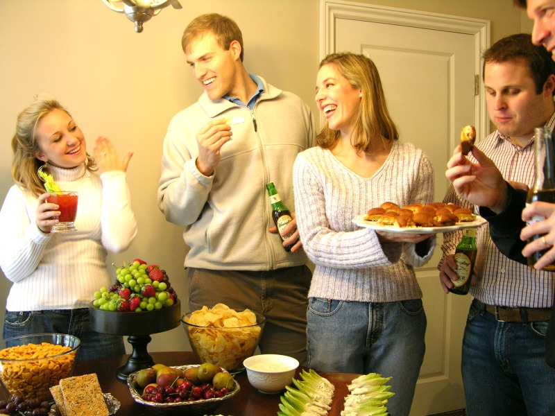 Super Bowl party ideas Martie Duncan