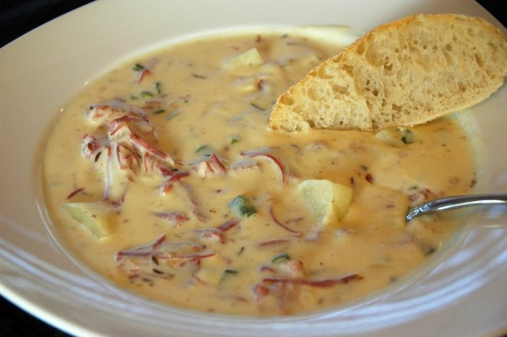 recipe for Reuben Chowder Corned Beef Soup
